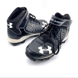 Under Armour Renegade RM Football Cleats Size 6Y